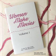 Women Filmmaker Zine (Vol. Filmmaking Quotes, Bridal Shower Games, Zine, Graduation Gifts, Some Fun, Event Planning, Print Design, Prints, Etsy