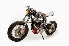 pinterest.com/fra411 #classic #motorbike - RocketGarage Cafe Racer: Honda CBN 400 by Ed Tuner