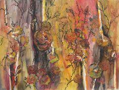"""""""Desert Roses"""" by Sharon Giles Framed Wall Art, Wall Art Prints, Rose Art, Desert Rose, Acrylic Paintings, Closer, Deserts, Watercolor, Art"""
