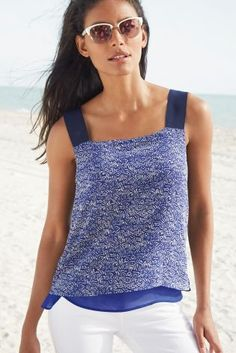 Buy Wide Strap Layer Cami from the Next UK online shop