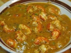 Cajun Crawfish Gumbo Recipe, a Louisiana favorite! Made with peeled crawfish tails, onions, celery, garlic, and roux. Serve this over rice with cornbread and you have an awesome meal!