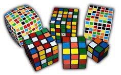 Kostka Rubika – kolorowy sześcian » Świat wokół nas