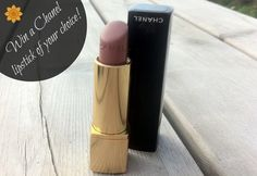 Makeup-Pixi3 beauty blog: Chanel lipstick GIVEAWAY!