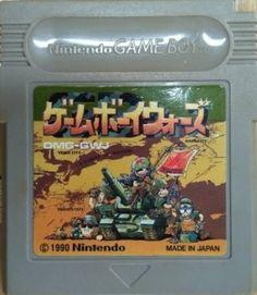 Used Game Boy Wars (Nintendo Game Boy, 1991)