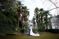 Emma&Rory_Hampton-Court-House_47 Hampton Court House, Courthouse Wedding, Couple Portraits, White Dress, Couples, Civil Wedding, Couple