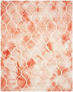 Safavieh Dip Dye DDY685 Orange