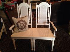 2 chair bench, #edwardsville #eville #edglenmag. edwardsville