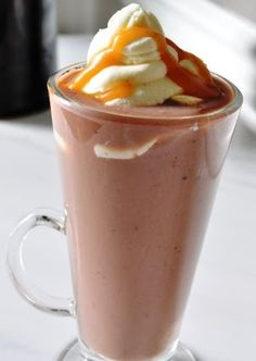 Caramel Hot Chocolate! Looks dauntingly delicious! #hot chocolate ...