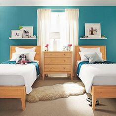I think I could be willing to have two guest rooms: one for my kids and one for grown ups