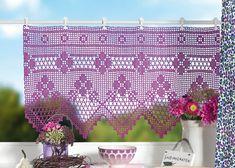 Фиолетовая гардина