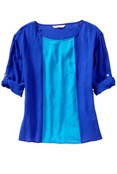cute! will have to pick one up when I go back to the US >> Old Navy Color-Blocked Button-Tab Top