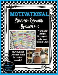 Spark Student Motivation: Reward Bracelets