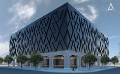 Concept project of louis vuitton store by eldar melikshakh