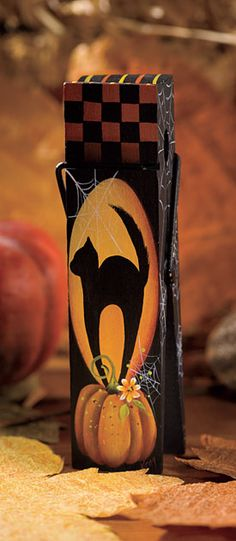painting clothespins for christmas | Shadow Pumpkin by Kim Christmas - Decorative Painting Patterns from ...