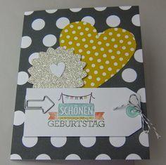 """Einfache Karte mit dem Kartenset """"Für viele Anlässe""""   http://eris-kreativwerkstatt.blogspot.de/2014/07/einfache-karte-mit-dem-kartenset-fur.html"""
