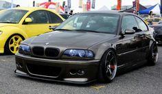 BMW E46 M3 brown