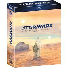 Blu-ray Digipak Star Wars: The Complete Saga [ 9-Disc Set DIGIPAK Case ] [Region Free] [ English SDH @ niftywarehouse.com #NiftyWarehouse #Geek #Products #StarWars #Movies #Film