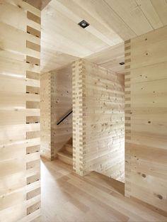 Zumthor - Wooden house in Vals