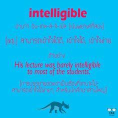intelligible