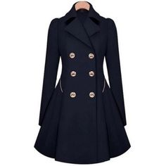Dark Navy Blue Trench Coat Ordered this jacket from a company in another country it's too small for me. Never worn size xxl but is far from truth. This size may work for a person who wears large or medium. Nice jacket but I'm sad it doesn't fit. Professional for work or even a night out on the town. I also have the same jacket in Beige and Black willing to give a bundle deal. Jackets & Coats Trench Coats