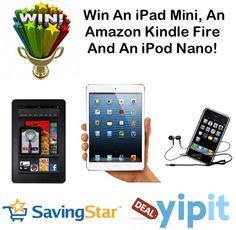 SavingStar And Yipit iPad Mini Giveaway