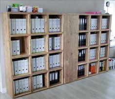 steigerhout kantoorkast - Google zoeken