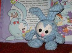 Крош - Вязаные игрушки LilikSha TOY