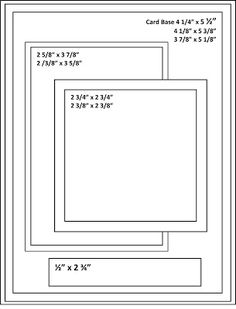 179 best images about Card Sketches with Measurements on .