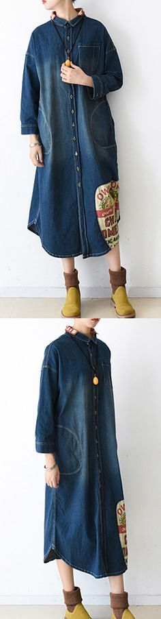 2016 winter denim dresses casual plus size jeans outwear
