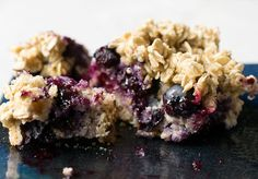 Vegan Blueberry Buckle - No Oil Added!