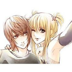 Death Note--Light and Misa