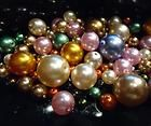 MIXED COLORS CZECH GLASS PEARL BEADS
