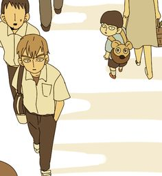 "I still wonder how it was Reigen in his youth but I remember that in the manga he said that he was pretty normal and that he don't had any real goal in his life...he just went job to job until have the ""spirits and such consultation office""  I like to think that Mob gave a little of colour to Reigen's life"