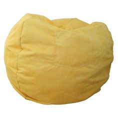 Fun Furnishings Canary Yellow Small Beanbag - About Fun Furnishings This company was created in 1993 in response to a need for more furniture choices for kids who had outgrown cribs. Top quality...