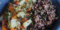 Veggie & Herb Stew with Wild Rice – holistic and hopeful healing
