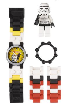 LEGO 'Storm Trooper' Character Watch & Toy Looks amazing