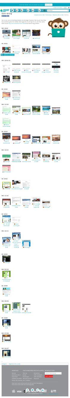 Website 'http://www.auslandssemester-bali.de/index.php?title=Bali-Blog' (MediaWiki) snapped on Snapito.com
