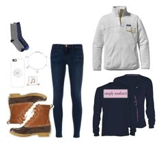"""""""I want winter! It's 86 degrees here!☀️"""" by harpgirl913 ❤ liked on Polyvore featuring mode, J Brand, Patagonia, L.L.Bean, Casetify, Bling Jewelry en Keds"""