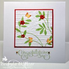 Benzi Stampz: Vines and Flowers    Cased a card by Joanne aka sleepyinseattle on Splitcoaststampers