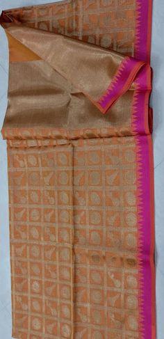 Kota checks full saree zari checks | Buy online kota sarees | Elegant Fashion Wear
