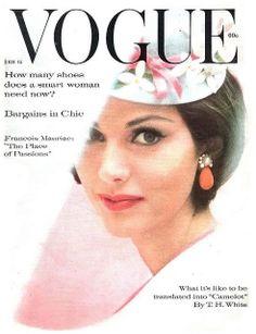 Dorothea McGowan, Vogue US, February 1961.