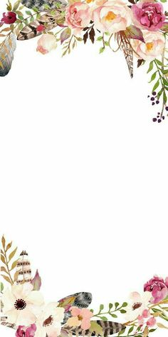 credits to the owner Flower Background Wallpaper, Flower Backgrounds, Background Patterns, Wallpaper Backgrounds, Iphone Wallpaper, Invitation Background, Floral Invitation, Wedding Cards, Wedding Invitations