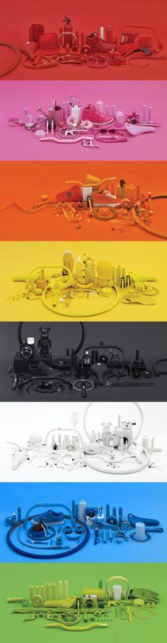 Découverte de la dernière collaboration entre la marque de fixies Csepel Royal et Suppre-Neopaint. Ces derniers ont réalisé un lookbook pour la marque en créant des univers de couleurs unies. Une idée simple et très bien exécutée à découvrir dans la suite. #colors #objects #inspiration