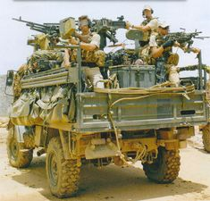 UNIMOG Gun Trucks