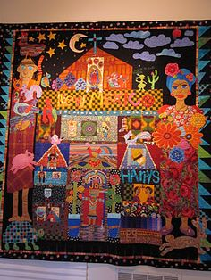 Love story quilts by Mary Lou Weidman