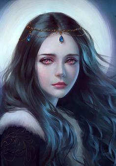 Love the tiara.  selenada deviantart - Pesquisa