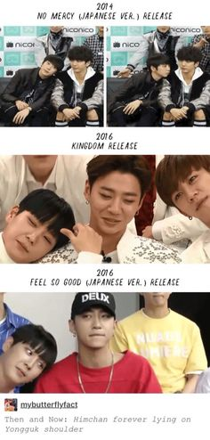 Some things just never change~ BangHim . Bang Yongguk & Kim Himchan of Bap Kpop