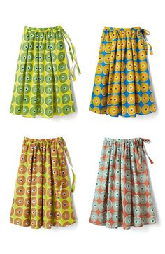 haco. [ハコ]|リス クロース アフリカン気分 バティック風柄のボリュームスカートの会|フェリシモ