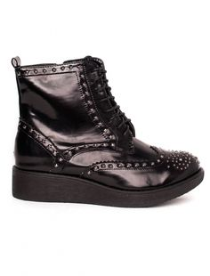 """Ghete """"Punkster"""" Black. Pret 64.90 lei Dr. Martens, All Black Sneakers, Combat Boots, Casual, Shoes, Fashion, Moda, All Black Running Shoes, Zapatos"""