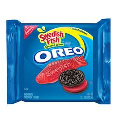 Sure, Nabisco has come up with some pretty inventive Oreo flavors (root beer float, anyone?). But their latest Limited Edition concoction, which is rolling out this week and is available exclusively at Kroger (and Kroger-owned) supermarkets nationwide, as well as on Amazon, might win for their most out-there creation. It's a Swedish Fish Oreo—which is comprised of Swedish Fish-flavored crème sandwiched between the classic chocolate wafers.